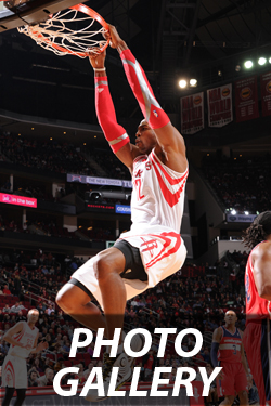 Rockets vs. Wizards Photos