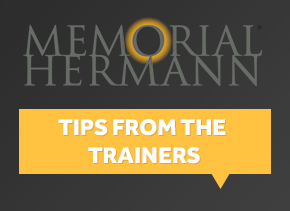 Hermann Memorial Tips from Trainers