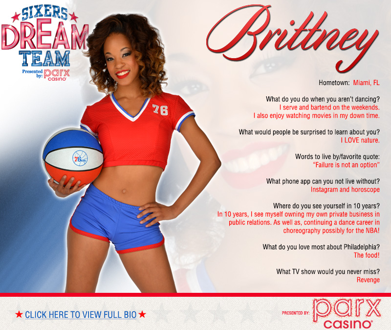 2013-14 Dream Team - Brittney | THE OFFICIAL SITE OF THE ...