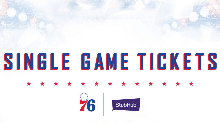 image about 76ers Printable Schedule called Philadelphia 76ers Tickets