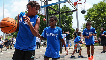 The Sixers and sneaker retailer Snipes team up to renovate Philly rec centers