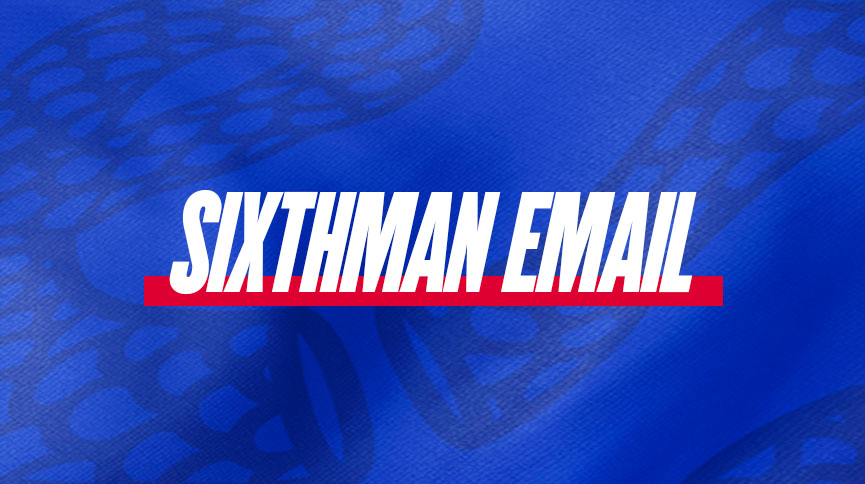 Sixthman email sign up card