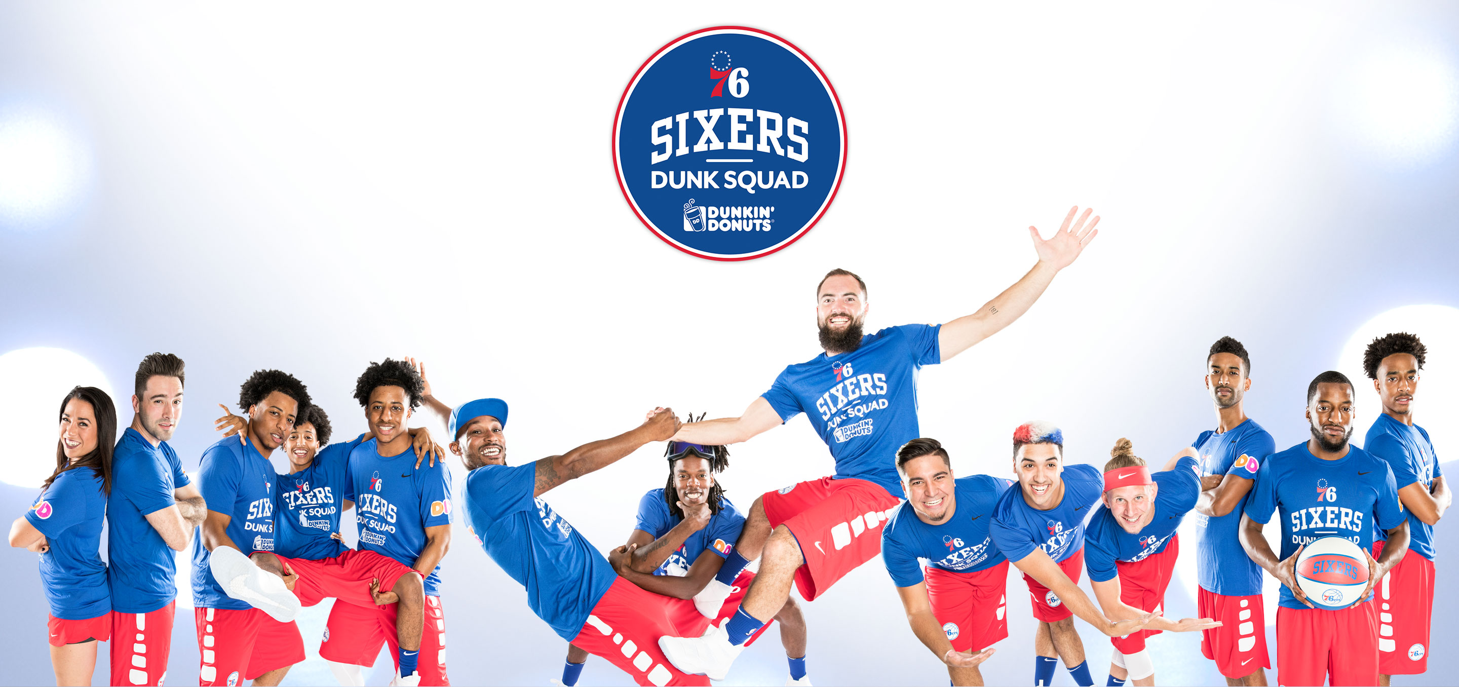 2017-18 Sixers Dunk Squad