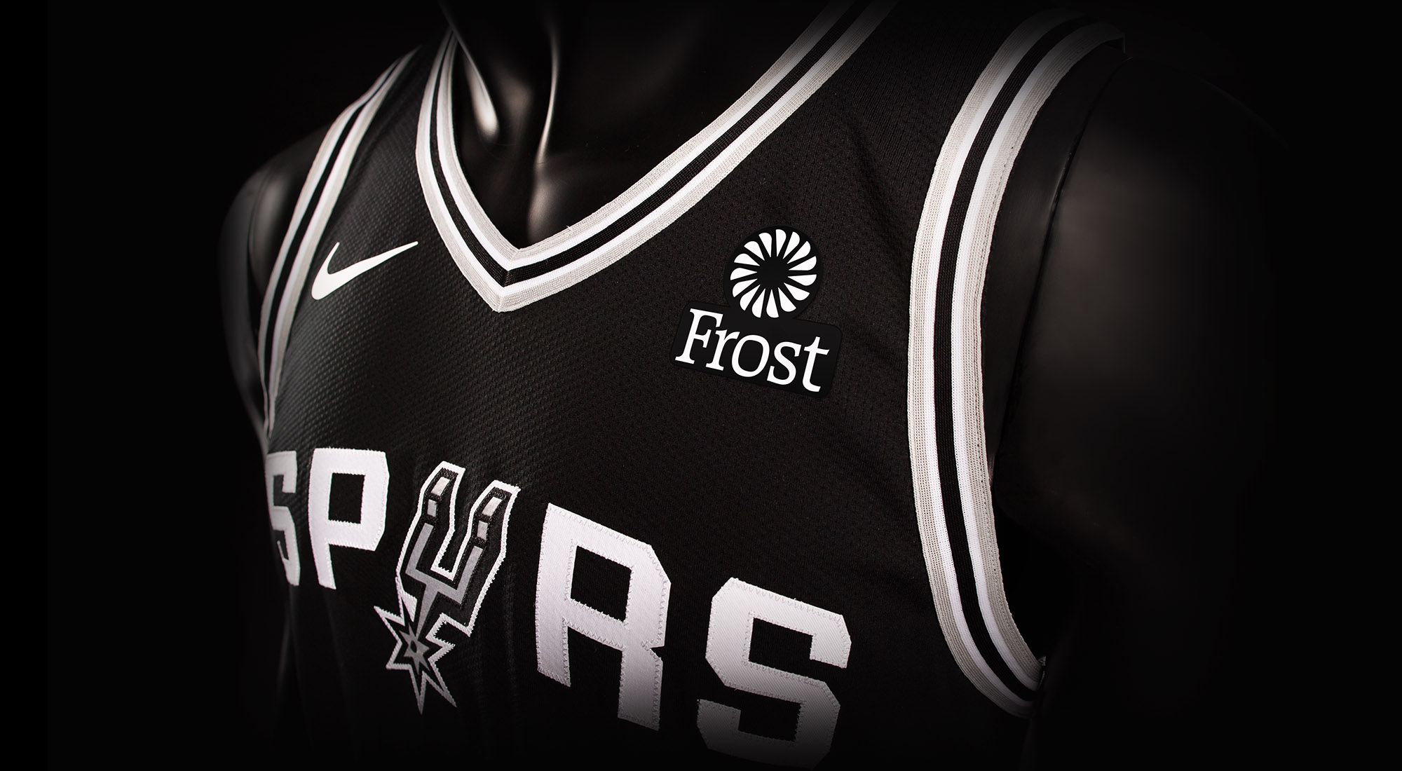 frost bank first-ever jersey partner of the san antonio spurs | san