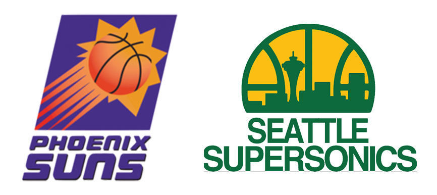 Phoenix Suns vs Seattle Supersonics 1993