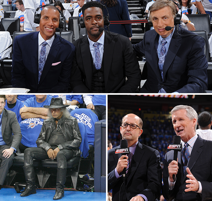 OKC WELCOMES CELEBRITIES, ON-AIR AND OFF