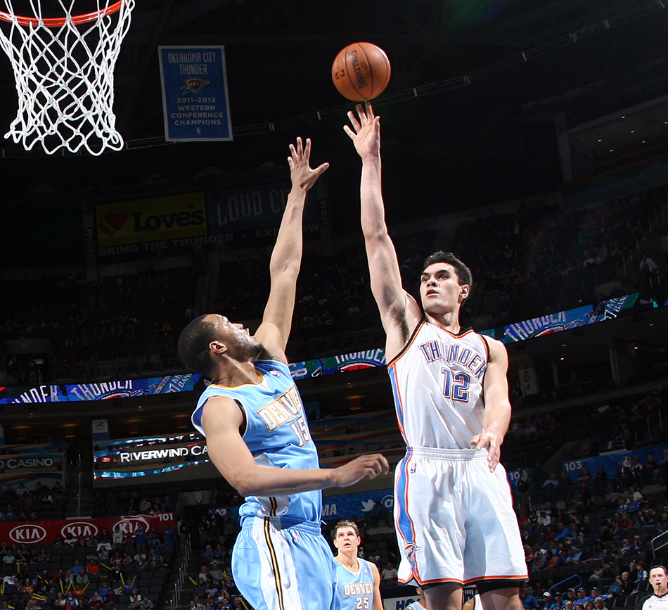 Photo Gallery: Thunder Vs. Nuggets - March 24, 2014