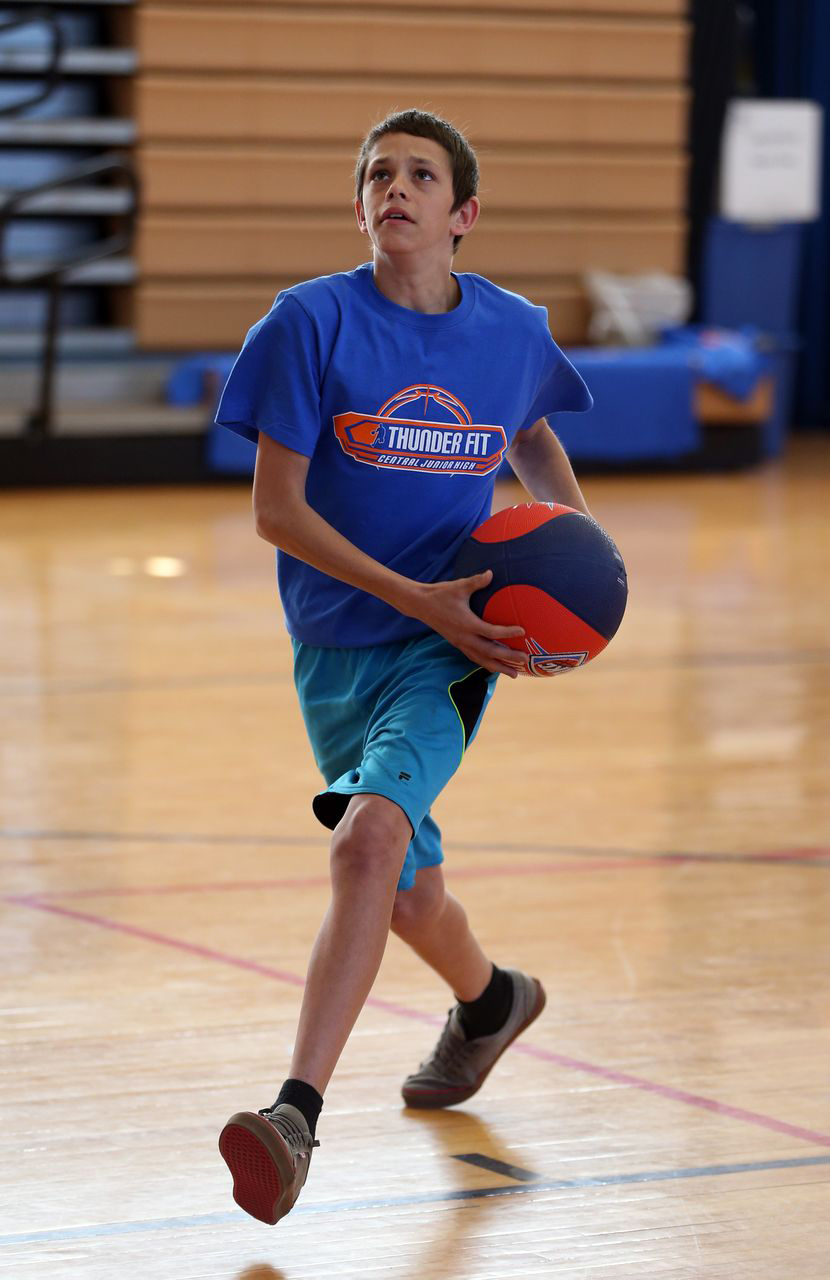 Photo Gallery - Central Junior High Fit Clinic: March 10 ...