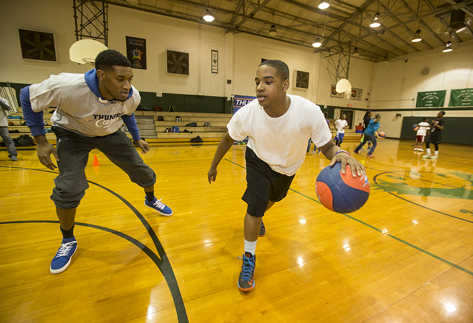 Photo Gallery: Fit Clinic at Kerr Middle School - Feb. 21 ...