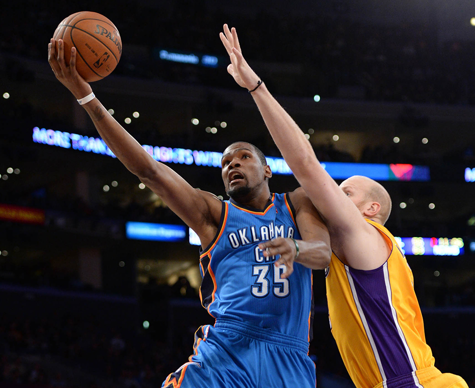 Photo Gallery: Thunder at Lakers - Feb. 13, 2014 | THE ...