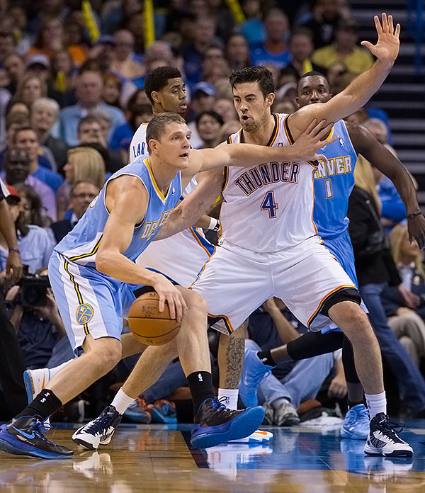 Photo Gallery - Thunder Vs. Nuggets: Nov. 18, 2013