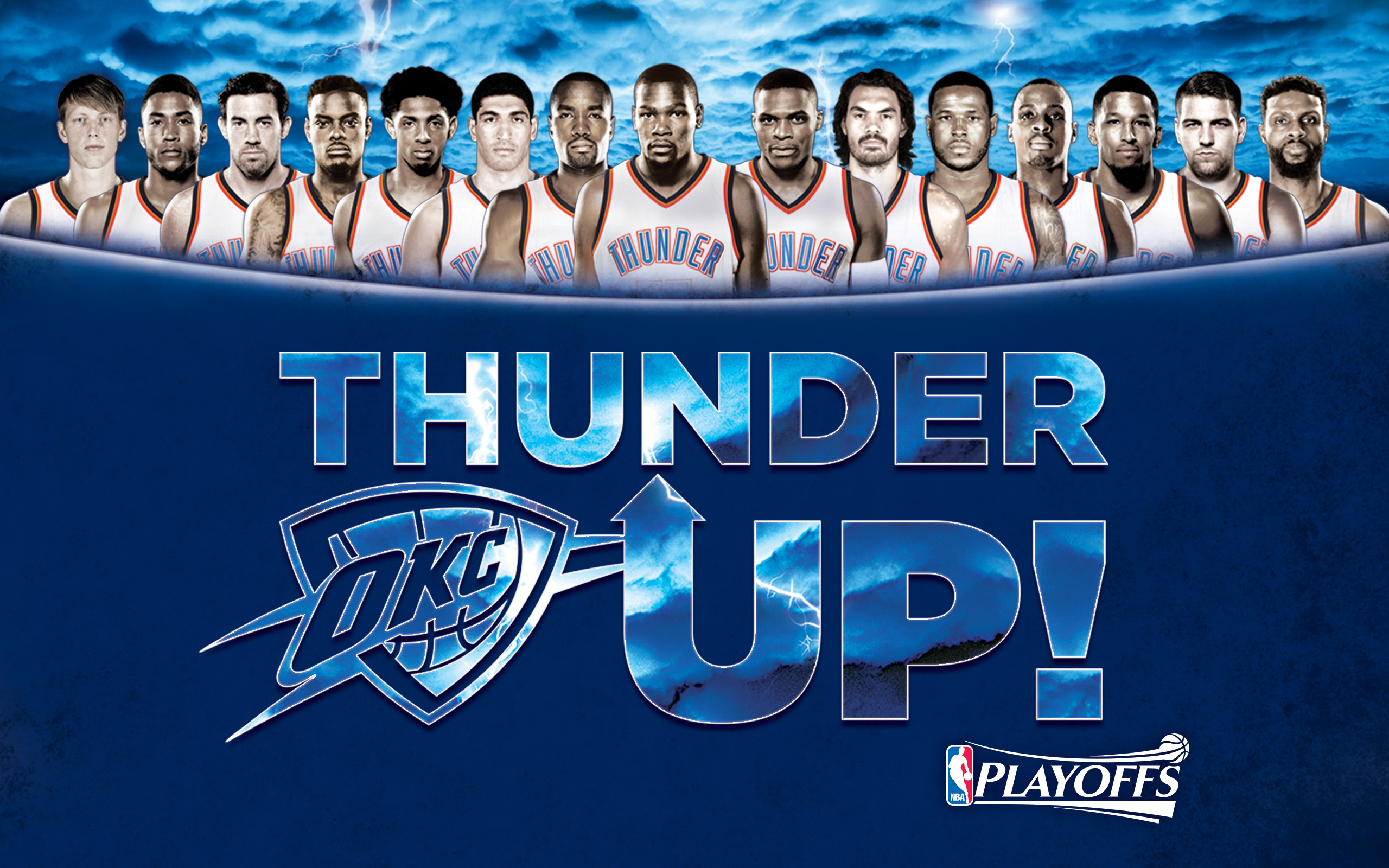 thunder playoffs wallpapers oklahoma city thunder