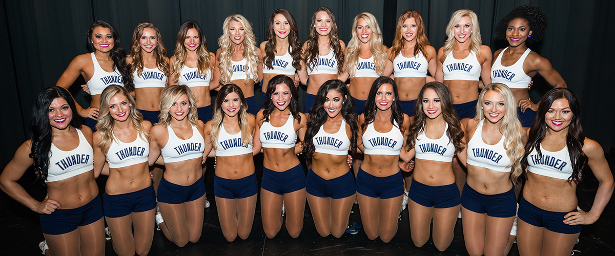 Thunder Girls Auditions And Requirements Oklahoma City