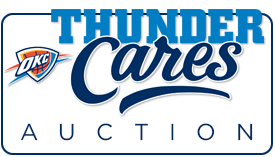Thunder Cares Auction
