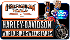 Harley-Davidson World Sweepstakes