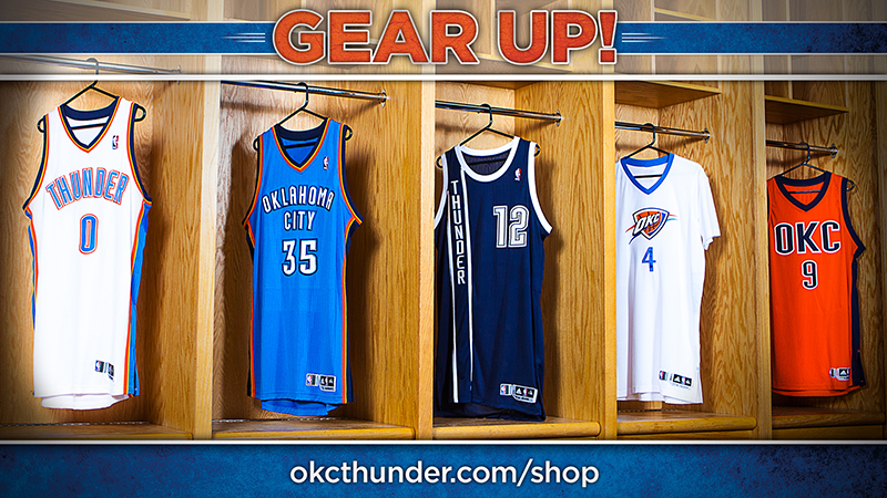 All the best Oklahoma City Thunder Gear and Collectibles are at the official online store of the NBA. The Official Thunder Pro Shop on NBA Store has all the Authentic Thunder Jerseys, Hats, Tees, Apparel and more at vegamepc.tk