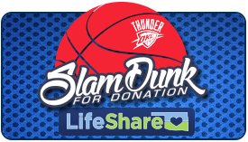 LifeShare Dunk for Donations