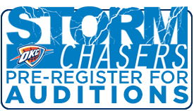 Storm Chaser Auditions