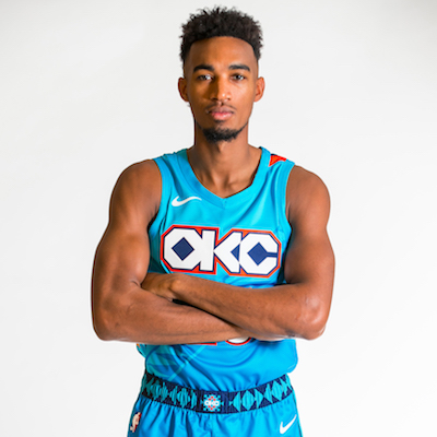 on sale b1295 55f0e Thunder Unveils New Turquoise Uniform Honoring Oklahoma's ...