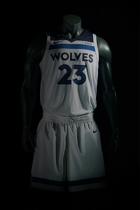 360 Timberwolves Jersey View