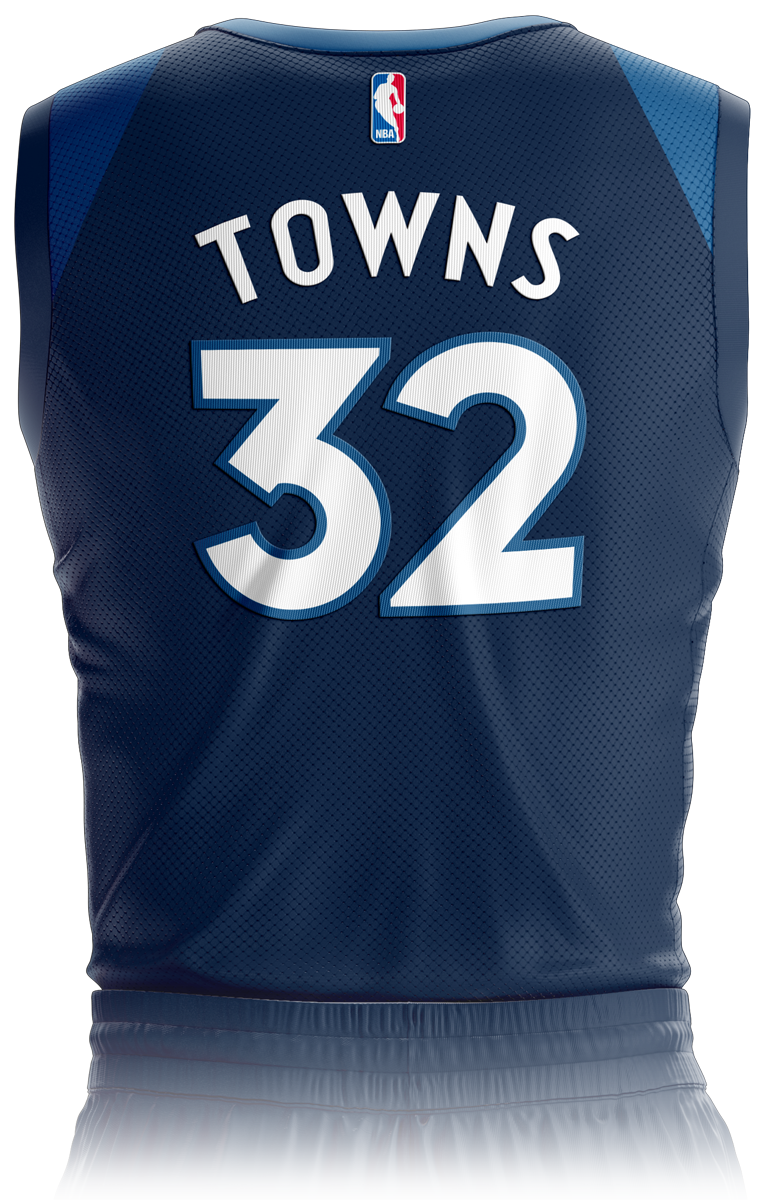 f97a3c83e94 Minnesota Timberwolves Icon Edition Jersey Back