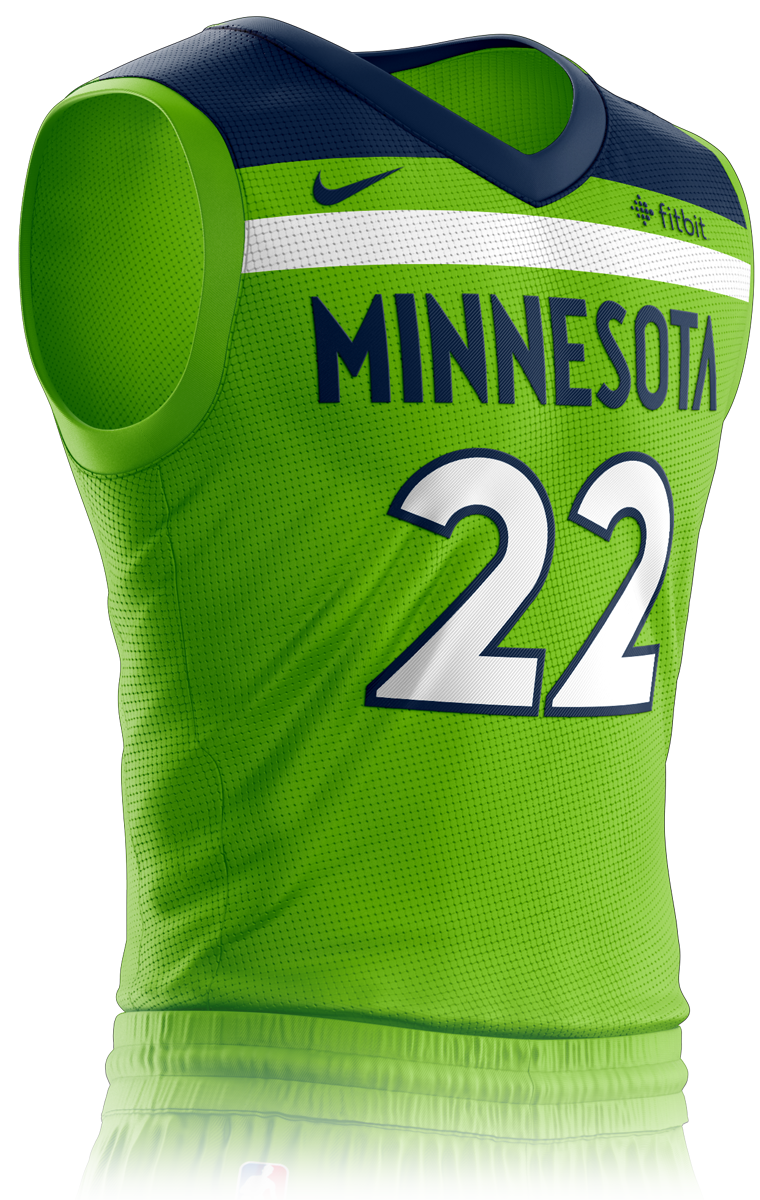 Minnesota Timberwolves Icon Edition Jersey Front