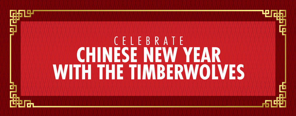 Celebrate Chinese New Year with the Timberwolves