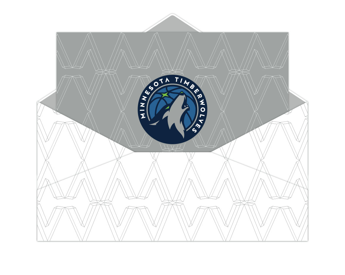 wolves holiday card