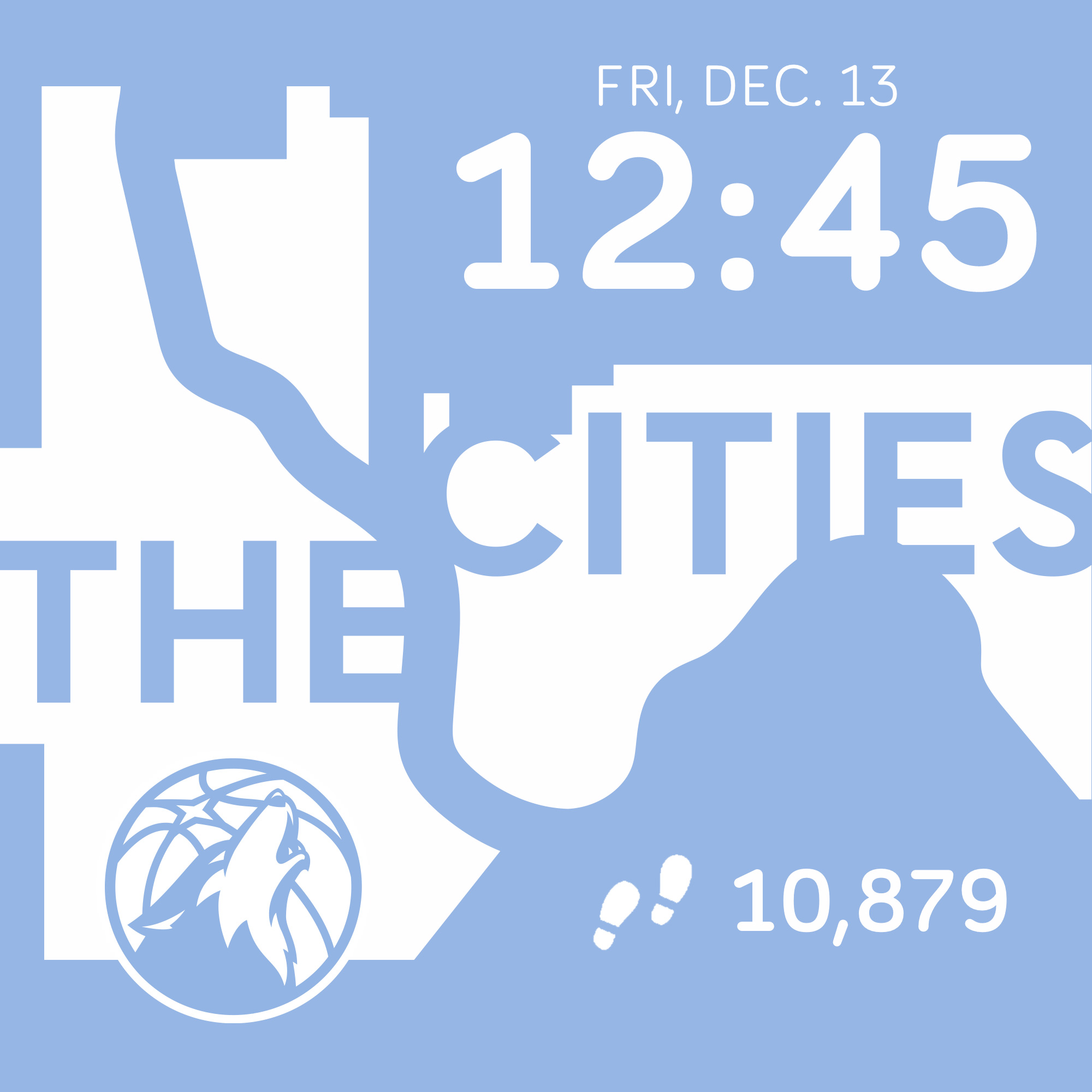 Digital Cities Edition Clock Face