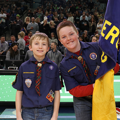 Timberwolves Boy Scout Packages | Minnesota Timberwolves