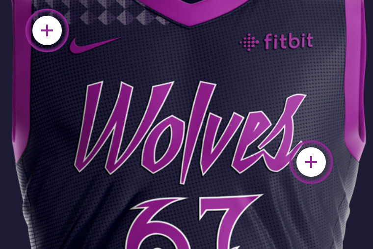Purple Reign Pack Minnesota Timberwolves