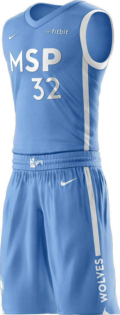Timberwolves Cities Edition Uniform
