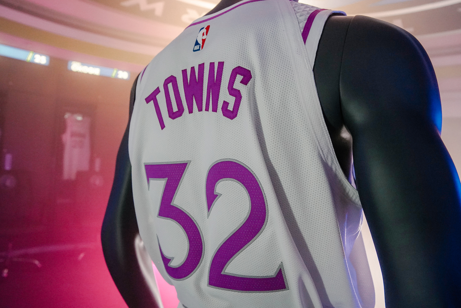 Earned Edition Towns Uniform (Back). Timberwolves Jersey Gallery Image 3fc205394