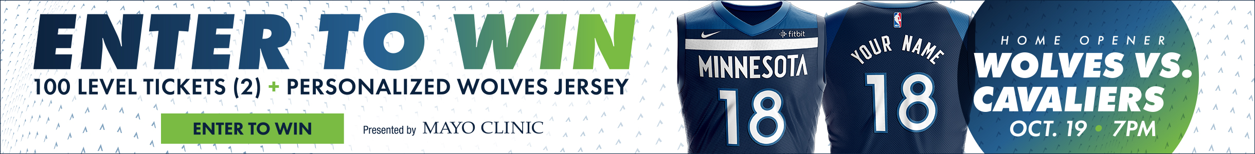 Enter To Win Two Tickets and a Personalized Jersey