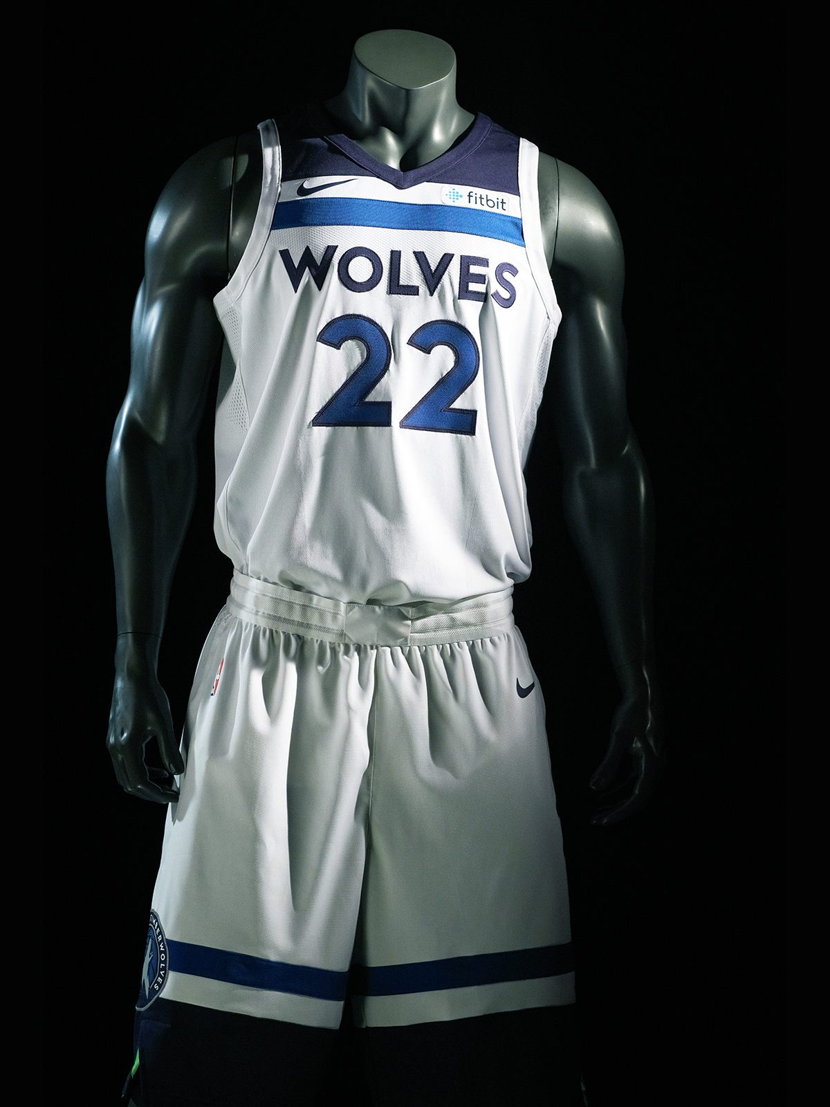 12edf86a065 Timberwolves Jersey Gallery Image Association Edition Wiggins Uniform (Front )