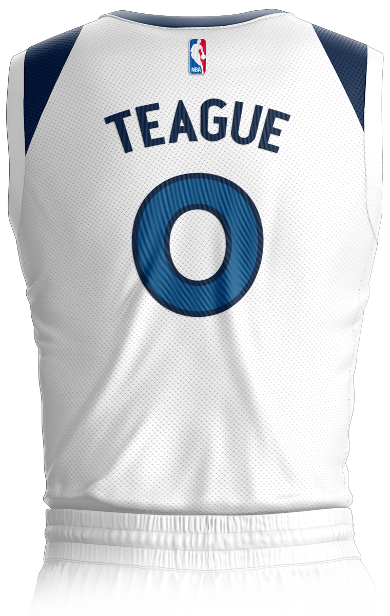 Minnesota Timberwolves Association Edition Jersey Back