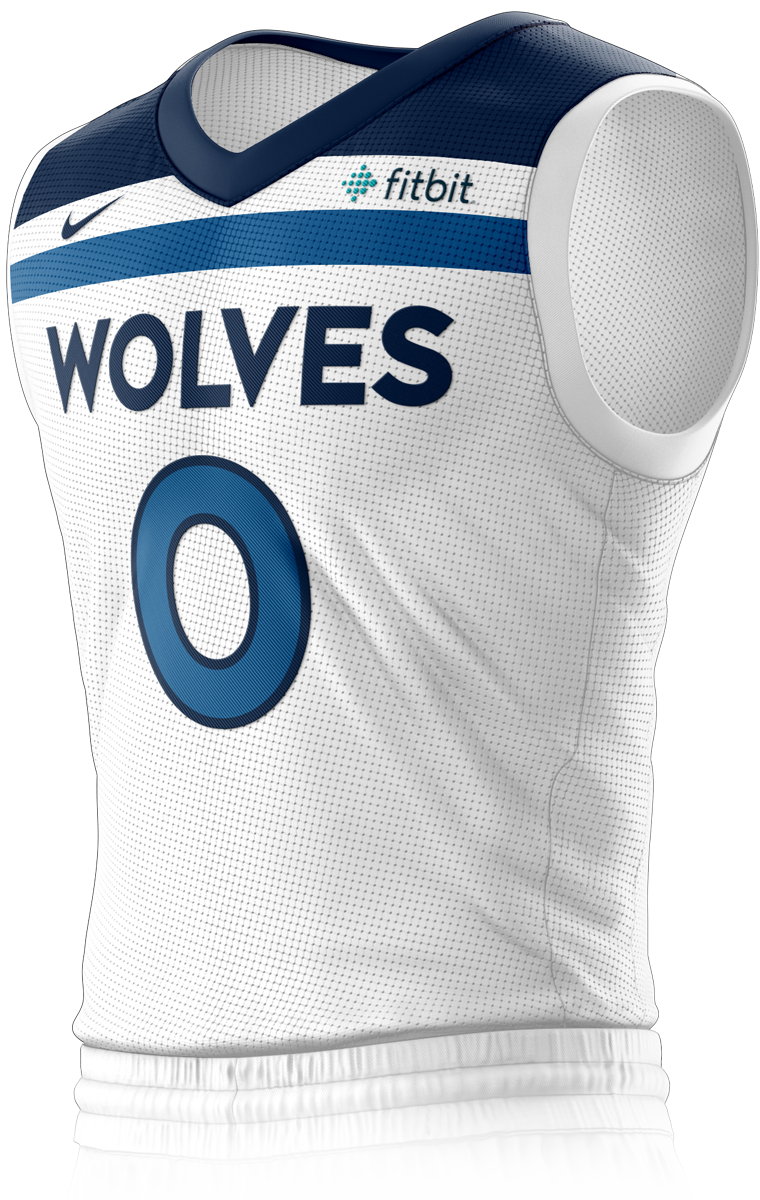 Minnesota Timberwolves Association Edition Jersey Front