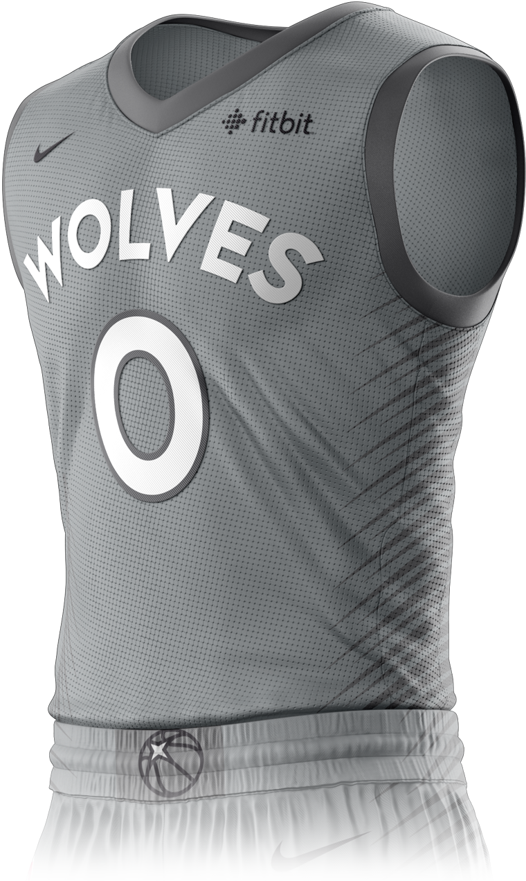 Minnesota Timberwolves City Edition Jersey Front