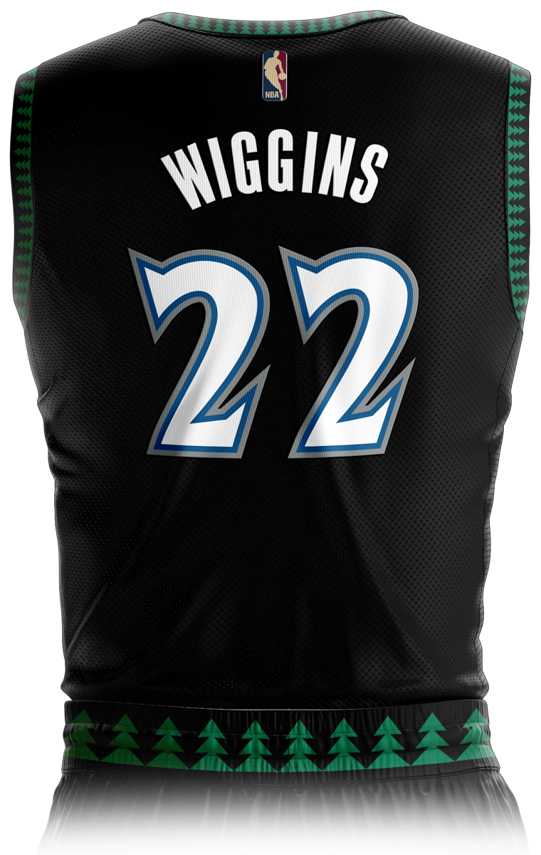 Minnesota Timberwolves Classic Edition Jersey Front