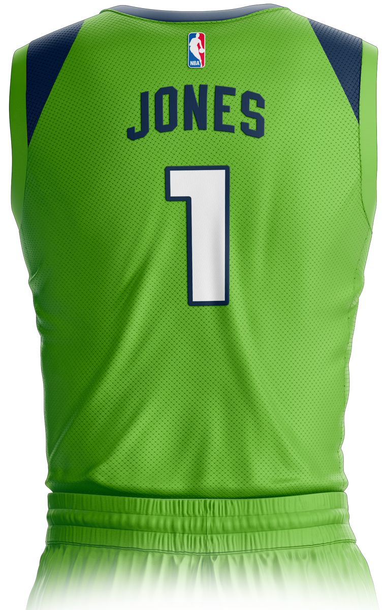 Minnesota Timberwolves Icon Edition Jersey Back