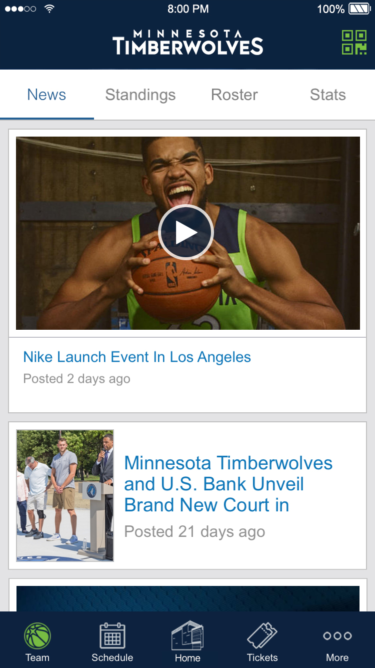 Official App of the Minnesota Timberwolves