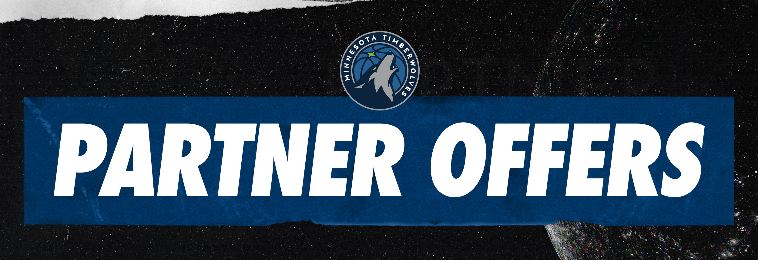 Timberwolves partner offer header