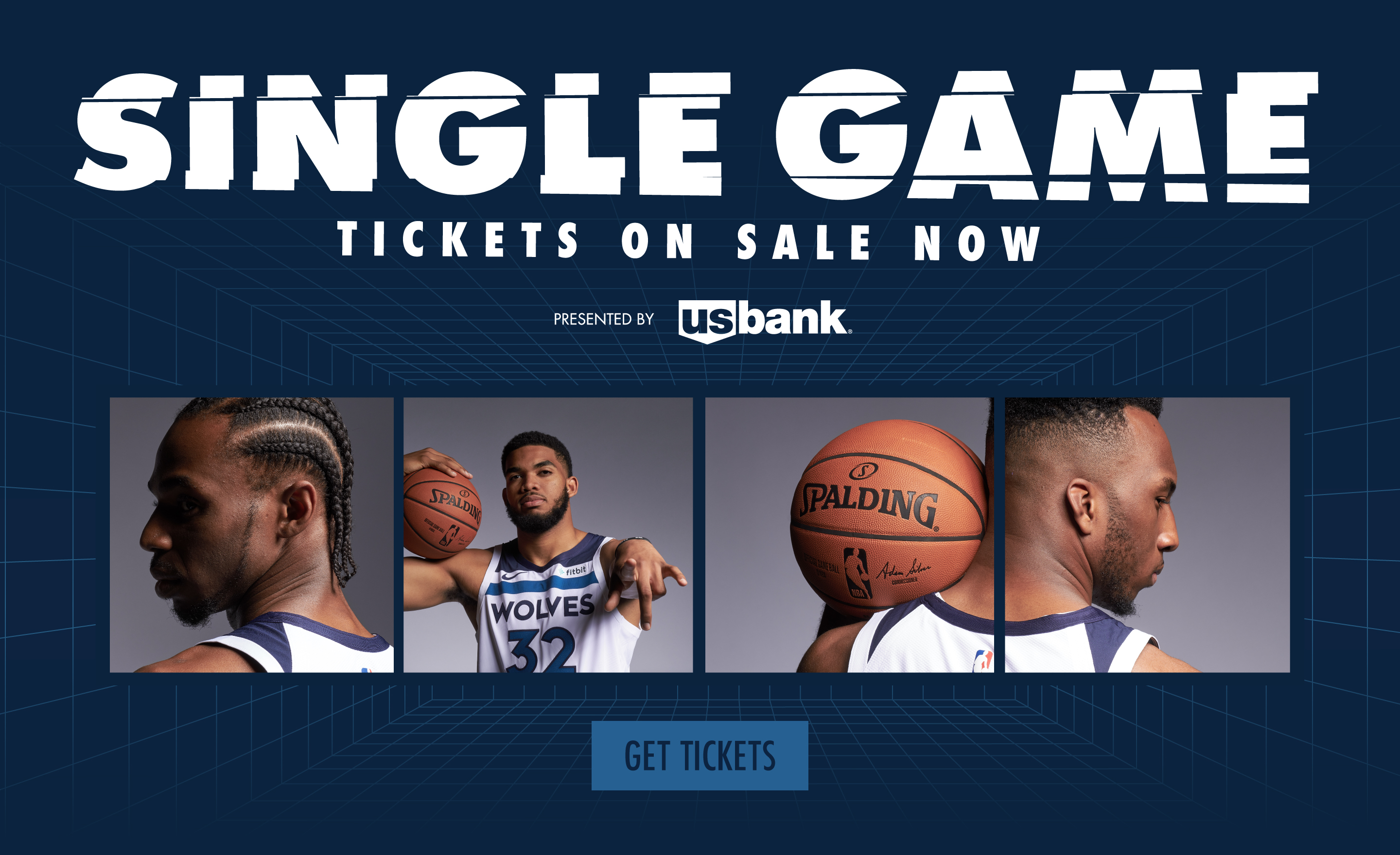 Single Game Tickets Onsale now!