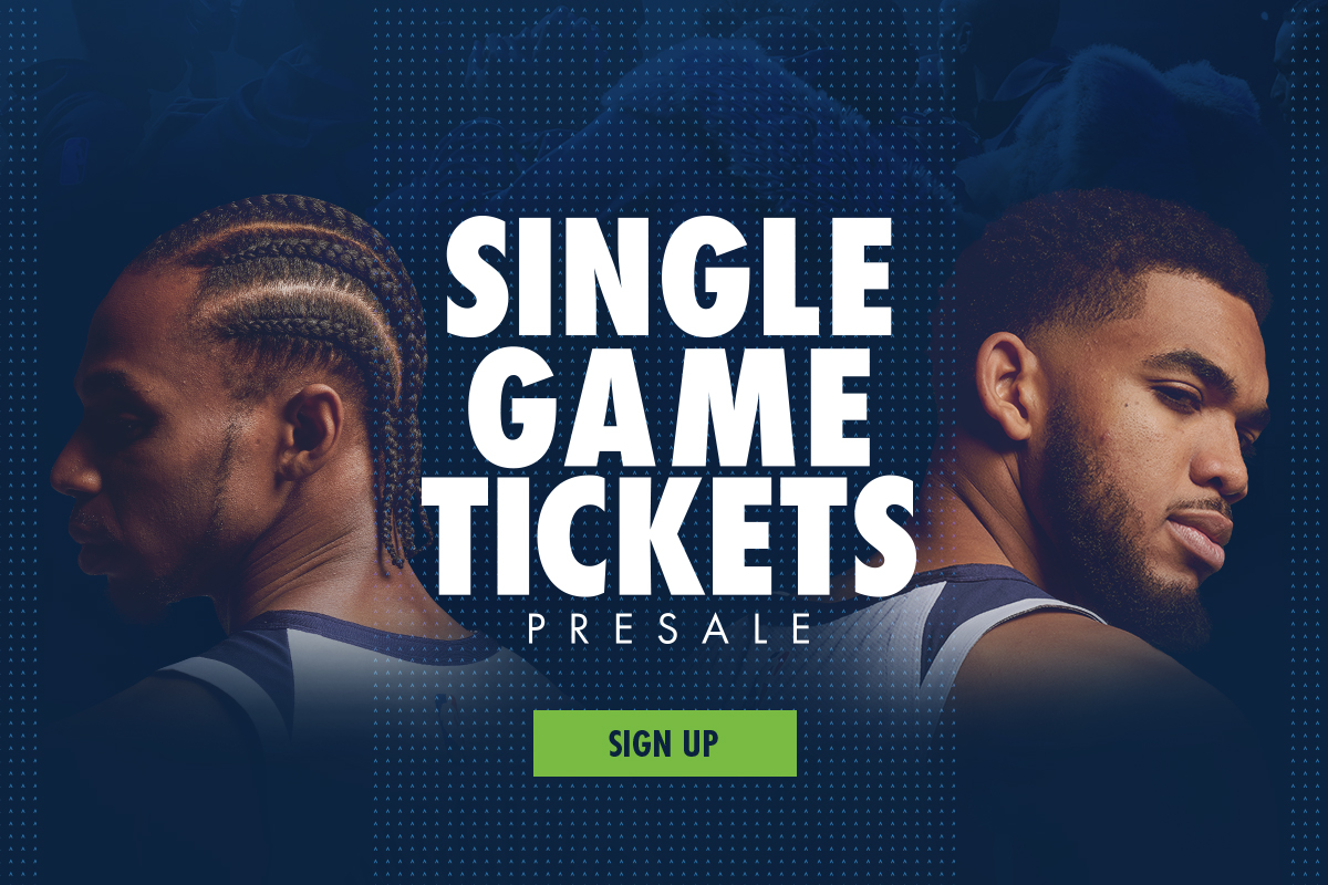 Sign up for our Single Game Ticket presale!