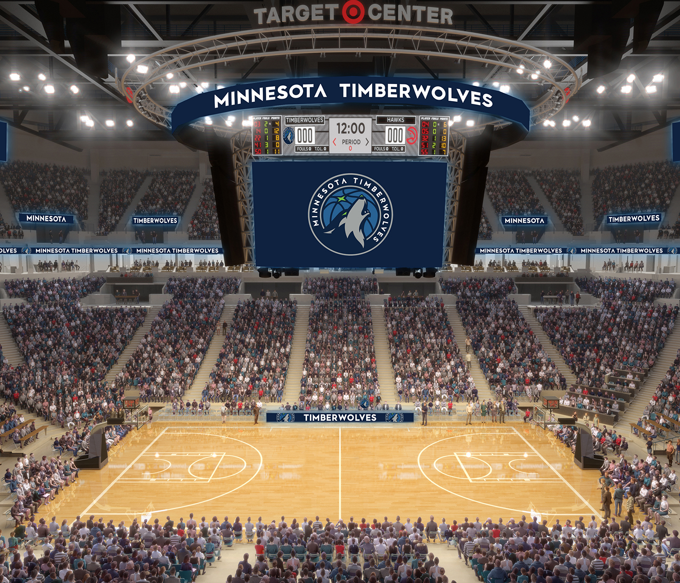 New Era New Digs Tour The Reimagined Target Center