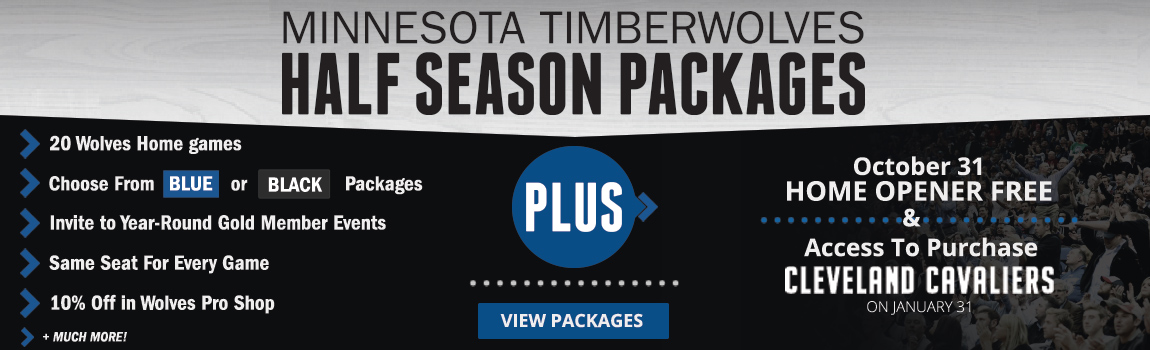 Timberwolves Half Season Package
