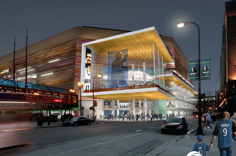 Target Center Renovation