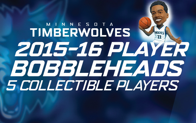 Timberwolves Bobblehead Nights