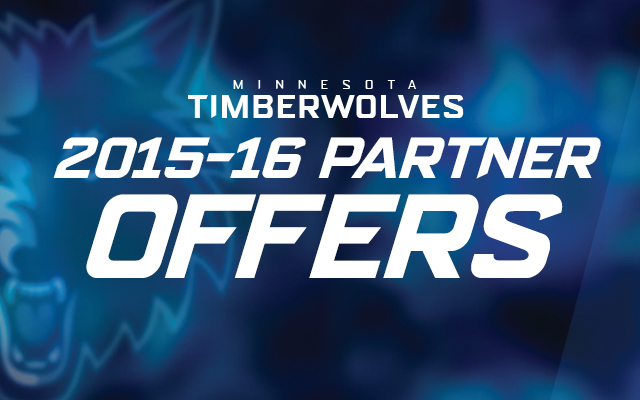 Timberwolves Partner Offers