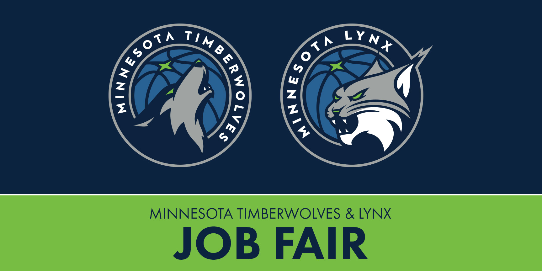 Timberwolves and Lynx Job Fair
